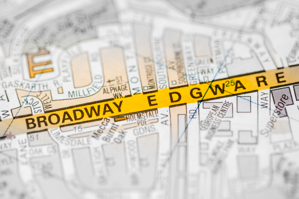 Broadway Edgware. London